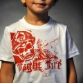 Black Helmet Apparel - Crimson Skull Kids T 4