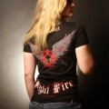 Black Helmet Apparel - Fight Fire T 2