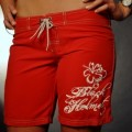 Black Helmet Apparel - Hibiscus Board short