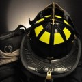 Black Helmet Supply - 911 Leather Tribute Helmet 5